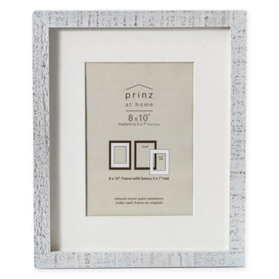 Buy White Distressed Frame from Bed Bath & Beyond
