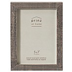 Prinz 5-Inch x 7-Inch Distressed Pallet Wood Frame in Grey