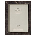Prinz 5-Inch x 7-Inch Distressed Pallet Wood Frame in Light Black