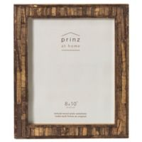 Prinz 8-Inch x 10-Inch Pallet Pieced Wood Frame in Coffee