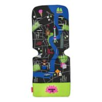 Maclaren® Shanghai City Map Universal Seat Liner in Green/Blue