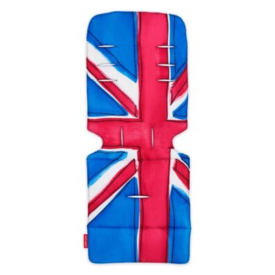 union jack toilet seat. Maclaren  Union Jack Princess Blue Universal Seat Liner in Red Buy from Bed Bath Beyond