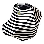 Itzy Ritzy® Milk Boss™ Multi-Use Cover in Black and White Stripe