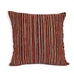 Awesome Square Throw Pillow in Fiesta