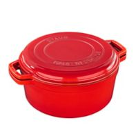 Staub Cast Iron 7 qt. Braise and Grill in Cherry