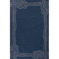 Jaipur Coastal Lagoon Killians 2-Foot x 3-Foot Indoor/Outdoor Accent Rug in Blue/Grey