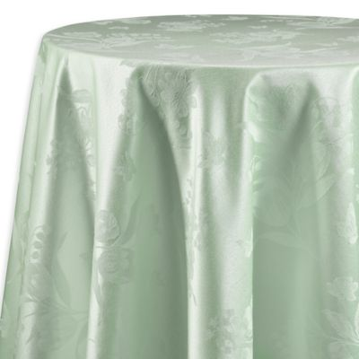 buy 70 inch round spring tablecloth from bed bath & beyond