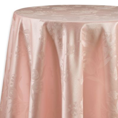 Spring Splendor 90 Inch Round Tablecloth In Pink