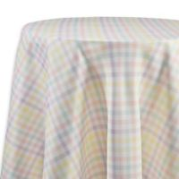 Spring Splendor Gingham 90-Inch Round Tablecloth in Multi