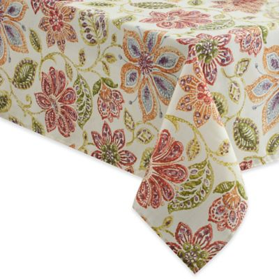 Croscill® Tessa 70 Inch X 70 Inch Square Tablecloth In Multi
