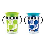Sassy® 2-Pack 7 oz. Grow Up Cup™ in Green/Blue