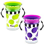 Sassy® 7 oz. 360 Tritan Cups in Green/Purple (Set of 2)