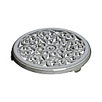 Staub Cast Iron 9-Inch Round Lilly Trivet in Graphite