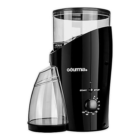 Gourmia Coffee Grinder In Black The Gourmia Coffee Grinder Has All The