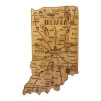 Totally Bamboo® Indiana Destination Cutting Board