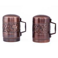 Old Dutch International Heritage Stovetop Salt and Pepper Shaker Set in Antique Copper