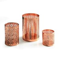 Danya B. Filigree Hurricanes in Rose Gold (Set of 3)