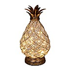 30-Light LED Glass Pineapple