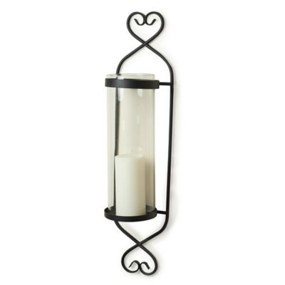 Buy Glass Candle Wall Sconce from Bed Bath & Beyond