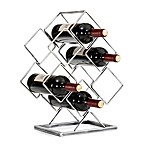 Danya B. 6-Bottle Electroplated Wine Rack