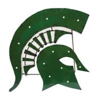 Michigan State University Spartans Illuminated Recycled Metal Wall Décor