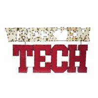"Texas Tech ""WRECK 'EM"" Recycled Metal Wall Décor"