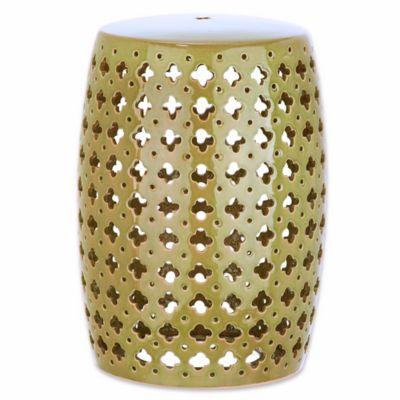 Buy Green Bird Ceramic Pierced Lantern From Bed Bath Amp Beyond