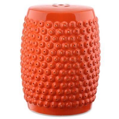 Buy Orange Garden Stool from Bed Bath Beyond