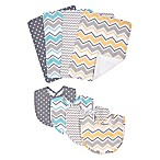 Trend Lab® 8-Piece Zigzag Baby Bib and Burp Cloth Set