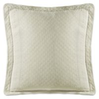 Historic Charleston Collection Matelasse European Sham in Ivory