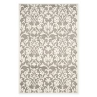 Safavieh Amherst 5-Foot x 8-Foot Kendell Indoor/Outdoor Area Rug in Dark Grey/Beige