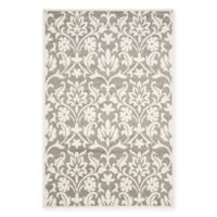 Safavieh Amherst 6-Foot x 9-Foot Kendell Indoor/Outdoor Area Rug in Dark Grey/Beige