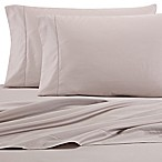 Wamsutta® 525-Thread-Count PimaCott® Wrinkle Resistant vQueen Fitted Sheet in Silver