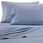 Wamsutta® 525-Thread-Count PimaCott® Wrinkle Resistant King Flat Sheet in Blue