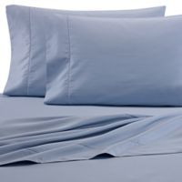 Wamsutta® 525-Thread-Count PimaCott® Twin Flat Sheet in Blue