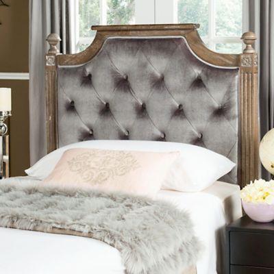 buy grey tufted headboard from bed bath  beyond, Headboard designs