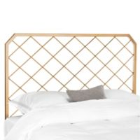 Safavieh Stitch Full Headboard in Antique Gold