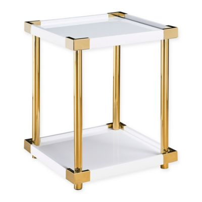 Pulaski Arlene End Table In White