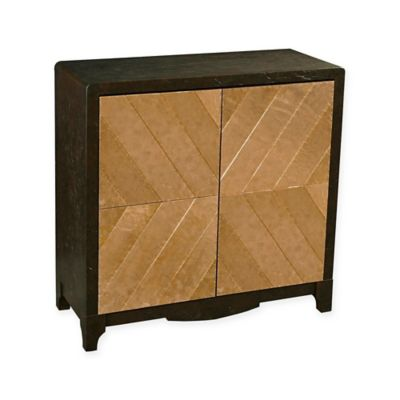 Pulaski Penny Bar Cabinet In Black