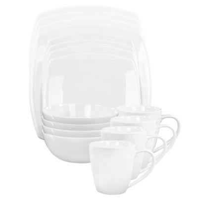 Oneida® Moda 16-Piece Dinnerware Set  sc 1 st  Bed Bath u0026 Beyond & Buy Oneida Casual Dinnerware from Bed Bath u0026 Beyond