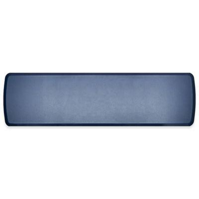 GelPro Elite Quill 20 Inch X 72 Inch Kitchen Mat In Atlantic Blue
