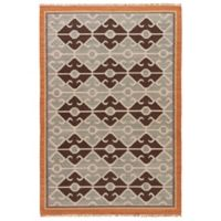 Jaipur Anatolia Sultan 5-Foot x 8-Foot Area Rug in White