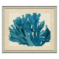Seafan Wall Art in Blue
