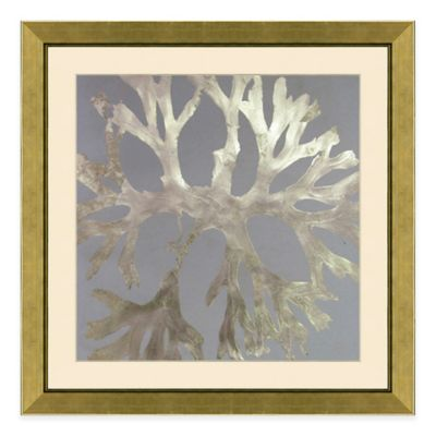 metallic coral framed wall art - Large Metal Wall Decor