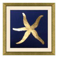 Metallic Starfish II Framed Wall Art