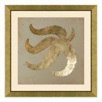 Metallic Starfish III Framed Wall Art