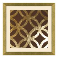 Metallic Pattern III Framed Wall Art