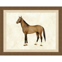 Horse II Framed Wall Art