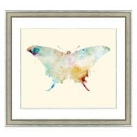 Butterfly I Framed Watercolor Print Wall Art