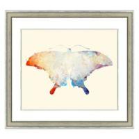 Butterfly II Framed Watercolor Print Wall Art